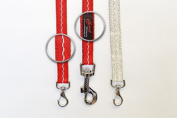 """Hundeleine """"Charly"""", in verschiedenen Farben und mit verschiedenen Karabinerhaken"""